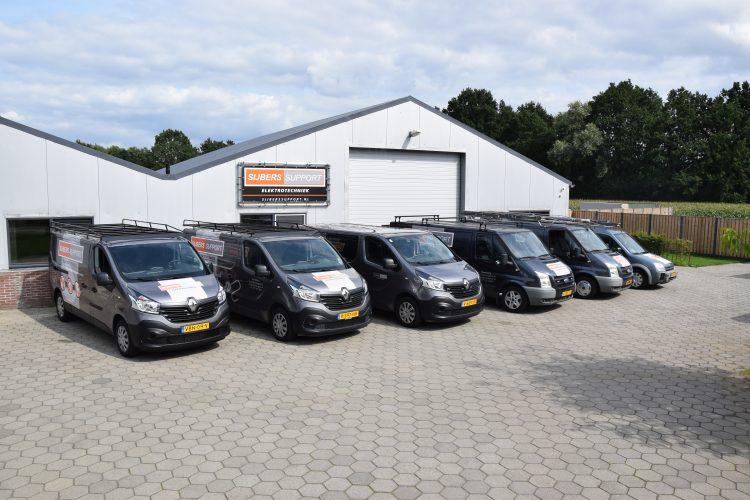 Uitbreiding wagenpark Sijbers-Support Elektrotechniek