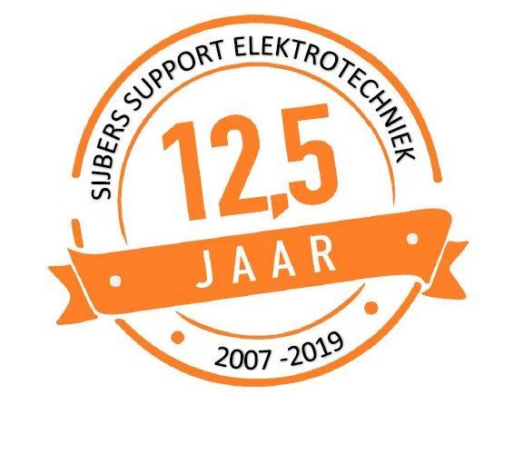 Sijbers-Support Elektrotechniek bestaat 12,5 jaar!